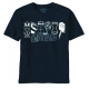 Avengers Movie Lit Up Icons Navy T/S
